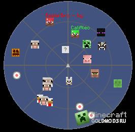 Мод RadarBro для Minecraft 1.2.5 + видео (Скачать бесплатно и без регистрации)