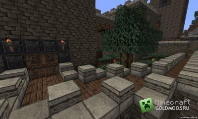 Текстур-пак Derivation RPG v5 [x32] для minecraft 1.2.5 (Скачать бесплатно и без регистрации)
