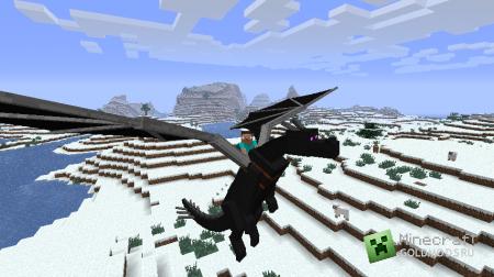 Мод Dragon Mounts v0.82 для minecraft 1.2.5 (Скачать бесплатно и без регистрации)