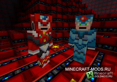 Текстур-пак Megaman X [16x] для minecraft 1.2.5 (Скачать бесплатно и без регистрации)