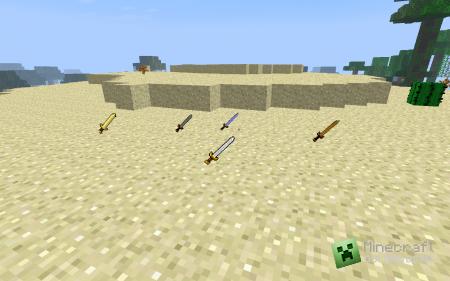 Текстур-пак Better Swords [32x] для minecraft 1.2.5 (Скачать бесплатно и без регистрации)