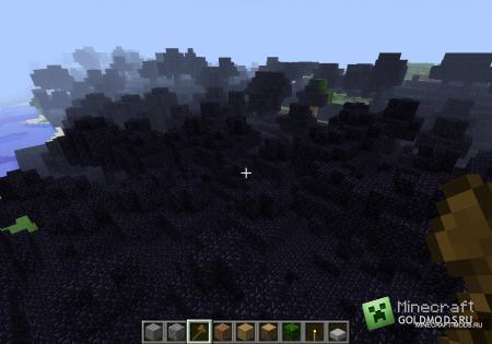 Карта Мертвый лес для Minecraft 1.2.5 (Скачать бесплатно и без регистрации)