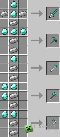 Мод Better Items v0.5 для minecraft 1.2.5 (Скачать бесплатно и без регистрации)