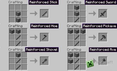 Мод Reinforced v1.0 для minecraft 1.2.5 (Скачать бесплатно и без регистрации)