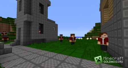 Скачать Realistic Villagers v2.5 для minecraft 1.2.5 бесплатно