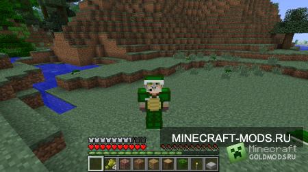 Скачать Turtle Mod для minecraft 1.2.5 бесплатно