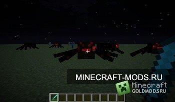 Скачать DeathSpiders для minecraft 1.2.5 бесплатно