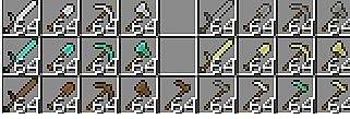 Скачать Tools are now stackable для minecraft 1.2.5 бесплатно