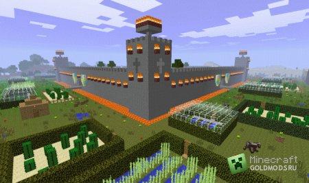Скачать Mace v1.7.2 [Random city generator] для minecraft 1.2.5 бесплатно