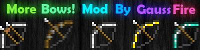 Скачать More Bows для minecraft 1.3.1 бесплатно