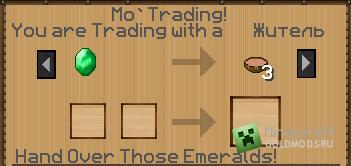Скачать Mo' Trading для Minecraft 1.3.1 бесплатно