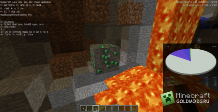 Обзор на Minecraft 1.3.1 от Minecraft-GoldMods.Ru