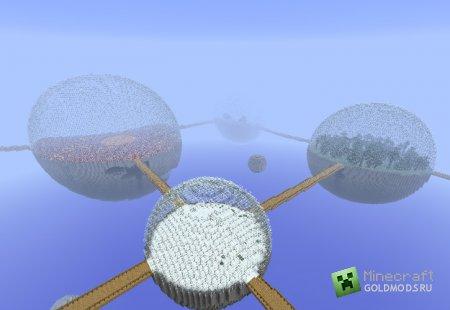 Скачать Biosphere для mincraft 1.3.1 бесплатно