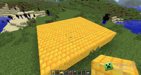 Скачать Gold Brick Block для minecraft 1.3.1 бесплатно