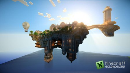 Скачать Floating Island of Altidor для minecraft 1.2.5 бесплатно