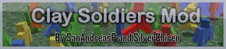 Скачать Clay Solriers Mod v8.0 [SMP] для Minecraft 1.3.2 бесплатно