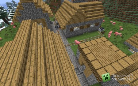 Кварцевые блоки в minecraft 1.5