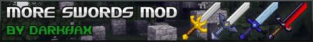 Скачать More Sword Mod для minecraft 1.4.7 бесплатно