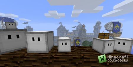 Скачать CubeBots для minecraft 1.4.7 бесплатно