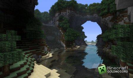 Скачать карту Тропический остров для minecraft 1.4.7