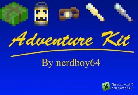 Скачать Adventure Kit Mod для minecraft 1.4.7 бесплатно