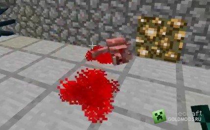Скачать кровь и расчлененка для minecraft 1.4.7 бесплатно