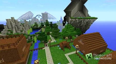 ������� ��������������� ����� Kingdom of the Sky ��� Minecraft 1.4.7 ���������