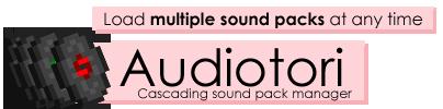 Cкачать Audiotori для minecraft 1.5 бесплатно