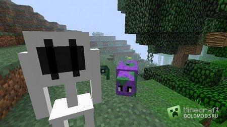 Скачать мод Odd Mobs для minecraft 1.4.7 бесплатно