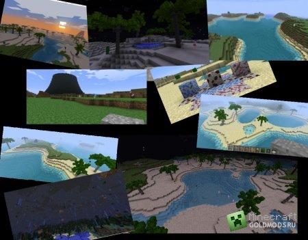 Скачать Тропические леса для minecraft 1.4.7 бесплатно