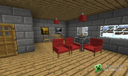 Скачать Jammy furniture для minecraft 1.4.7 бесплатно
