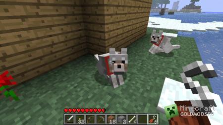 Скачать Sophisticated Wolves для minecraft 1.4.7 бесплатно