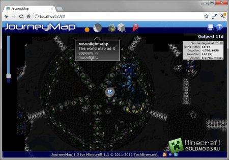 Скачать JourneyMap для minecraft 1.4.7 бесплатно