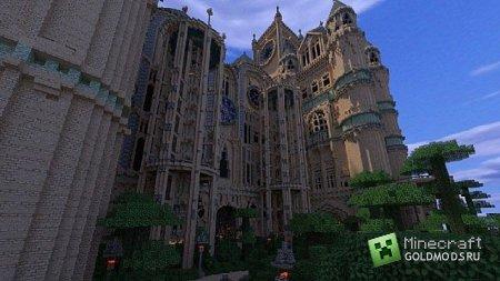 Скачать карту Kings-Cathedral для minecraft 1.4.7 бесплатно