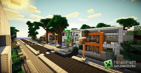 скачать текстуру Zombie Land для Minecraft 1.4.7 бесплатно