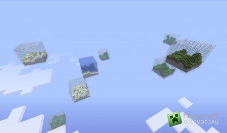 Скачать Кубический мир для minecraft 1.4.7 бесплатно