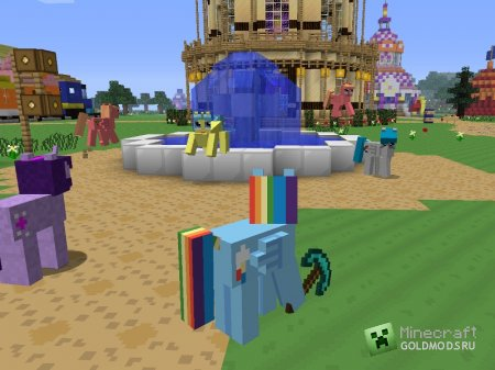 Скачать Mine Little Pony для minecraft 1.4.7 бесплатно