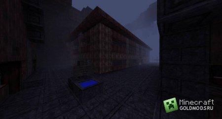 Cкачать карту Silent Hill minecraft 1.4.7 бесплатно