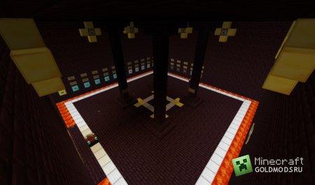 Скачать карту карт Zombie Arena minecraft 1.4.7 бесплатно