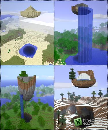 Скачать Парящие руины для minecraft 1.5 бесплатно