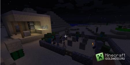 Cкачать Gravestone для minecraft 1.5 бесплатно