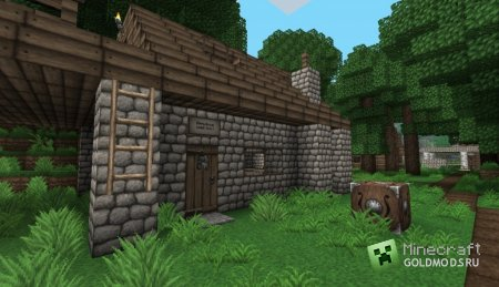 Cкачать текстуру Ovo's Rustic для minecraft 1.5 бесплатно