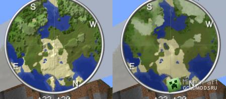 Скачать Rei's Minimap для  minecraft 1.5.1 бесплатно