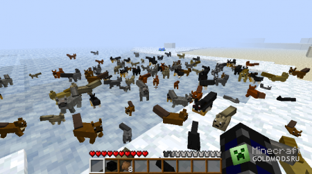 Скачать Squirrels для  minecraft 1.5.1 бесплатно
