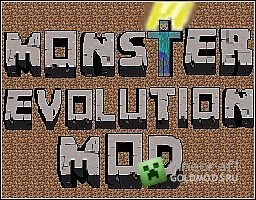 Скачать Monster Evolution  для  minecraft 1.5.1 бесплатно