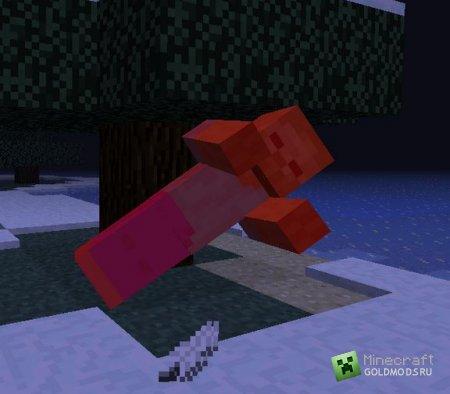 Скачать Zombies Drop Feathers  для  minecraft 1.5.1 бесплатно