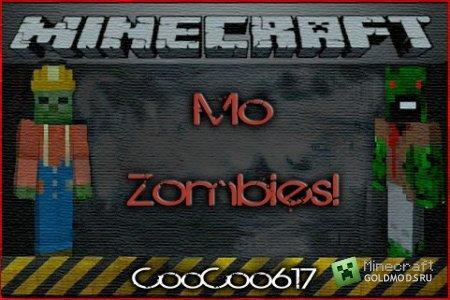 Скачать Mo' Zombies  для  minecraft 1.5.1 бесплатно