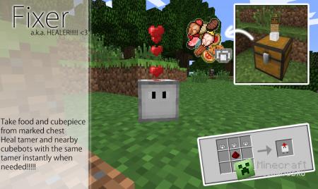 Скачать CubeBots  для  minecraft 1.5.1 бесплатно