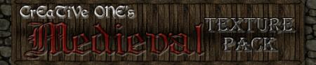 Скачать Текстур-пак  CrEaTiVe ONE's Medieval  для  minecraft 1.5.1 бесплатно