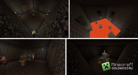 скачать карту 100 rooms. Ищем Стива для minecraft 1.5.1 бесплатно